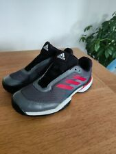 ADIDAS BARRICADE CLUB XJ Tennis Shoes Trainers Adult Boys Girls Kids UK 5.5