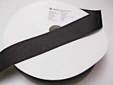 25M x 38mm Genuine VELCRO  Hook Sew On Tape Brown - VEL-LOC Extra Strong Closure
