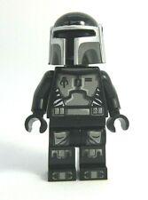 Lego Custom MANDALORIAN in Black Armor Minifigure -Custom Printing! -NEW