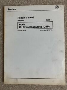 1998 Volkswagen VW Passat Body OBD Service Repair Manual