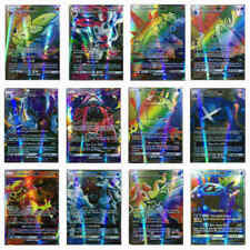 100Pcs Pokemon Card Lot Mixed 89 Gx + 11 Trainer Holo Flash Trading Game Cards