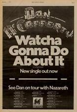 Nazareth UK Tour advert 1975 #1 ABCD