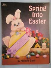 Spring Into Easter Tole Decorative Painting Patterns Book Eggs Bunny Rabbits Bok
