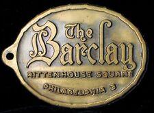 ANTIQUE HISTORIC THE BARCLAY HOTEL PHILADELPHIA RITTENHOUSE SQUARE CONDOS PA !