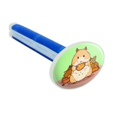 Hamster Eating Stash of Food Car Air Freshener Vent Clip