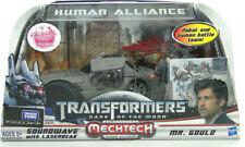 AUTHENTIC Transformers DD-09 DOTM Human Alliance Soundwave Laserbeak Gould MISB