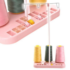 3 Spool STAND Sewing Machine Thread Bobbin Holder Embroidery Brother Singer Pink