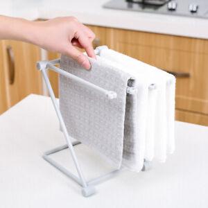 Dishcloth Towel Drying Rack Hand Towel Stand Rack Kitchen Storage Organizer