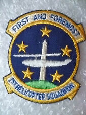 US Air Force First and Foremost 1st Helicopter Squadron patch (New*apx.85x70mm)