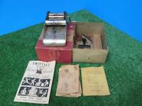 Vintage Superior Rotary Printing Press Cub 1950's w/Original Box and Accessories