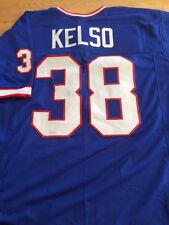 Buffalo Bills Mark Kelso custom unsigned jersey