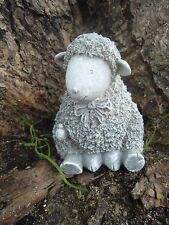 Latex baby sitting lamb Sheep Mold For Plaster or Concrete