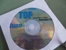 Top Tunes TTTP-02 Karaoke CDG ( Rock, Pop, Country)