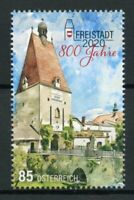 Austria Architecture Stamps 2020 MNH Freistadt 800 Years Bridges Gates 1v Set