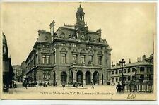 CPA 75 PARIS 18 Montmartre Place Jules Joffrin Rue Ordener 1900 Animée