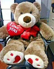 Jumbo Quality Teddy Bear Love You Heart Valentine's Day Gift plush Nwot