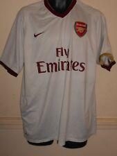 Arsenal Herbert Chapman Away Football Shirt Jersey 2007-2008 xl men s  1182 eeb037faf
