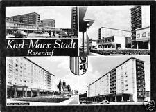 AK, Karl-Marx-Stadt, vier Abb., Rosenhof, 1968