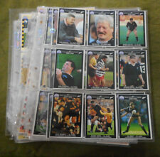 #LL2. 1991  SET OF 217 NEW ZEALAND  RUGBY UNION REGINA  CARDS