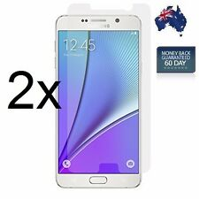 2X Genuine Tempered Glass Film Screen Protector Cover For Samsung Galaxy Note5