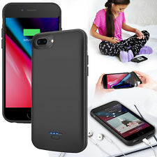 For iPhone 6 6s 7 8 Plus Battery Charging Case Cover Backup Power Bank Charger