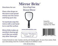 Anti Fog Shaving  Mirror