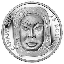 2014 $25 Fine Silver Coin - Matriarch Moon Mask