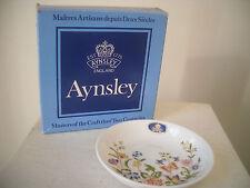 Aynsley Bone China Cottage Garden Trinket Dish Original Anysley Box NICE PRESENT