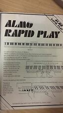 Almo Rapid Play: Beginner's Piano: Music Score (J2)