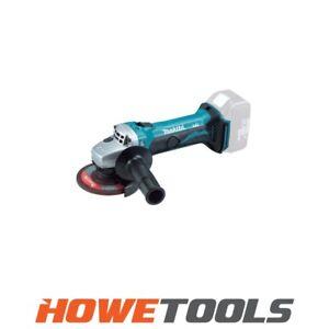 "MAKITA DGA452Z 18v Angle grinder 4.1/2"" (115mm)"