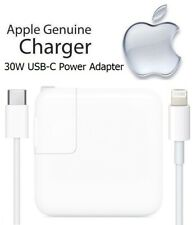 Apple iPad Pro 12.9-inch 1st Gen - 30W USB-C Fast Charging Power Adapter & Cable