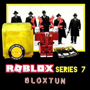 Roblox Celebrity Series 7  Bloxtun Figure with Springtime Antlers Code & Sword