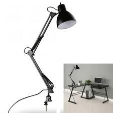 Flexible Swing Arm Clamp Mount Lamp Folding Office Studio Home Desk LED Light