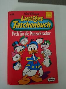Walt Disney Lustiges Taschenbuch LTB Nr.19 PECH FÜR DIE PANZERKNACKER (1990)