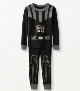 NWT Hanna Andersson STAR WARS DARTH VADER COSTUME GLOW IN DARK Pajamas 150 12 US