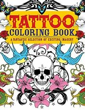NEW! Adult Coloring Book Stress Relief Beautiful Colouring Books Tattoo Designs