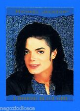 MICHAEL JACKSON - Panini 1996 - CARD - Figurina-Sticker n. 137