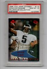 1999 Collector's Edge Odyssey DONOVAN McNABB Red Millennium Collection PSA 10