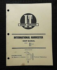1986 International Harvester 234 234 Hydro 244 254 Tractor I Amp T Shop Manual