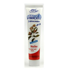 (51,33/L) 6x Natur Hurtig Himalaya Zahncreme Nelke Fenchel Zimt 75 ml
