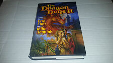 The Dragon Done It edited by Eric Flint & Mike resnick (2008, Hardcover) SIGNED