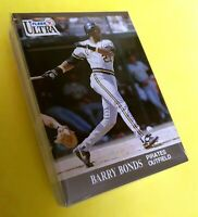 50) BARRY BONDS Pittsburgh Pirates 1991 Fleer Ultra LOT Card #275