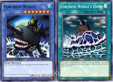 Yugioh Fortress Whale + Fortress Whale's Oath Ritual Set