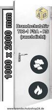 Brandschutztür T90 RS 1000 x 2000 Rauchdicht mit abs. Bodendichtung Teckentrup