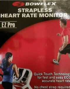 BOWFLEX EZ Pro Strapless Heart Rate Monitor NIB Fast & Accurate ECG Heart Rate