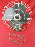 Large Vintage Art Deco Robbins & Myers Oscillating table or Wall Mount Fan