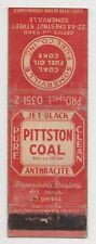 PITTSTON COAL SOMERVILLE FUEL CO., INC. COAL FUEL OIL COKE