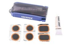 Kincrome TYRE PUNCTURE REPAIR KIT 4 Rounded & 2 Rectangular Patches *AUST Brand