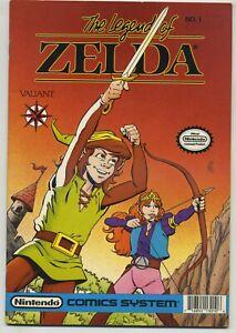 The Legend of Zelda 1 Early Valiant High Grade