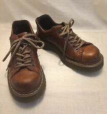 Dr Martens brown leather Oxford shoes womens 8 mens 7